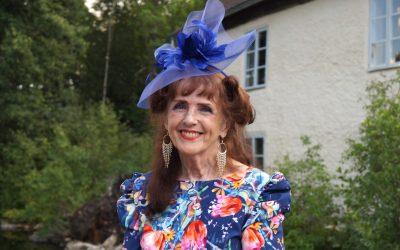 Elisabet Höglund på besök