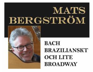 Gitarrkonsert på Herrgården i Grythyttan med Mats Bergström.